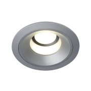 Preview: LEDDISK HORN DL Downlight, rund, silbergrau, 11W, 4000K