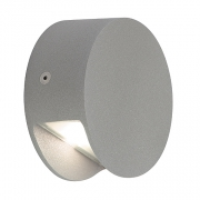 Preview: PEMA LED WANDLEUCHTE, silbergrau, 1x3,3W, 3200K