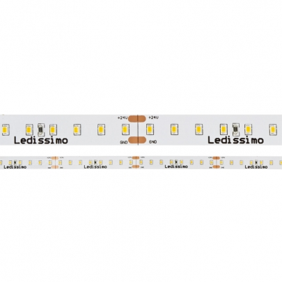 Preview: LED-Flexstreifen mit 2216-SMD-LEDs, Länge 5m, 640 LEDs, 9,6W/m