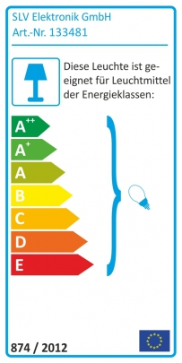 LIGHT EYE Pendelleuchte, weiss/chrom, GU10, max. 75W,