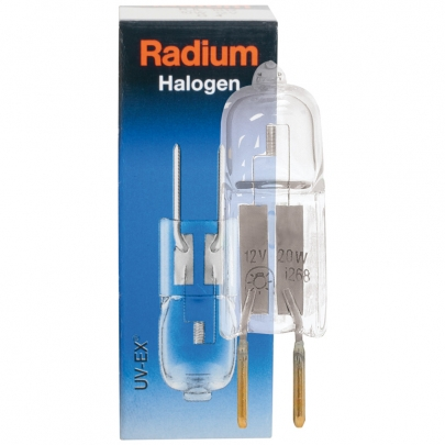 Radium NV-Halogenlampe, UV-EX, Niederdruck, GY6,35/12V/50W