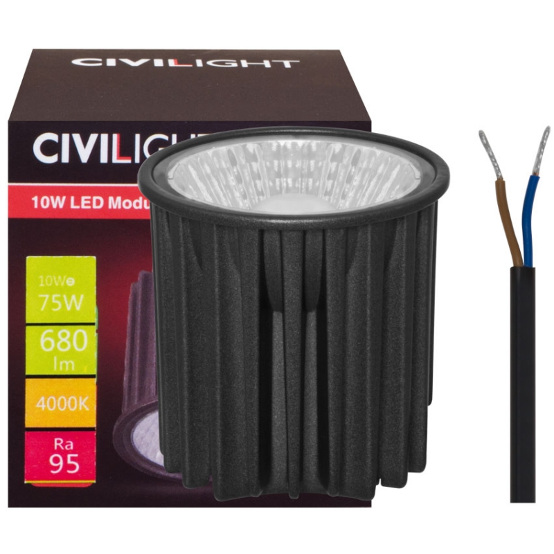 Civilight LED-Modul, PAR/MR16, 240V/10W (75W), 650 lm, Höhe 50