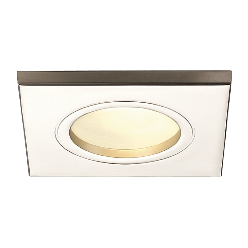 FGL OUT GU10 SQUARE Downlight, eckig, titan, max. 35W