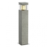 ARROCK GRANITE 70 Stehleuchte Granit, salt & pepper, E27, max. 15W