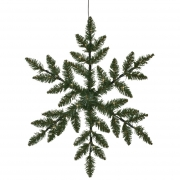 Best Season LED-Silouette, SNOWFLAKE, 36 warmweiße LEDs