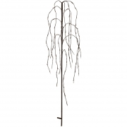 Best Season LED-Weidenbaum, WEEPING WILLOW, 96 warmweiße LEDs, H 1100