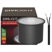 Civilight LED-Modul, PAR/MR16, 240V/6W (60W), 400 lm, H 36