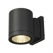 ENOLA_C OUT WL Wandleuchte, rund, anthrazit, 9W LED, 3000K 35°