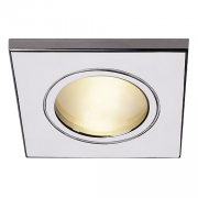FGL OUTDOOR MR16 SQUARE Downlight, chrom, max.35W