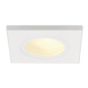 FGL OUTDOOR MR16 SQUARE Downlight, weiss, max.35W