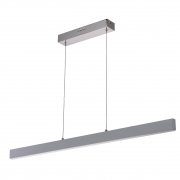 Hängeleuchte Hi-Tech von De Markt Chromfarben, stainless steel aluminium, frosted acrylic, lampshade 3x10W LED SMD 2400Lm 3000K LED included IP20