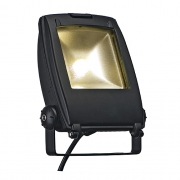 LED FLOOD LIGHT, schwarz matt, 30W, warmweiss, 120°