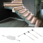 Leds Light LED-Flexstreifenset für Treppen LEDs/20W, 1600Lm, 2400K, IP20