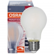 Osram LED-Lampe, PARATHOM ADVANCED RETROFIT CLASSIC A, AGL-Form, matt, E27/240V
