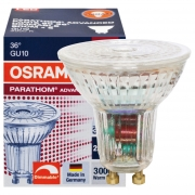 Osram LED-Reflektorlampe, PAR16, PARATHOM ADVANCED, GU10