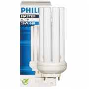 Philips Energiesparlampe, MASTER PL-T, G24q-3/230V/26W, LF 840, L 127