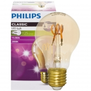 Philips LED-Filament-Lampe, VINTAGE, AGL-Form, gold, E27/2,3W, 125lm