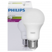 Philips LED-Lampe, COREPRO LEDBULB, AGL-Form, matt, E27, 2700K