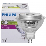 Philips LED-Reflektorlampe, MR16, COREPRO LEDSPOT, GU5,3/12V