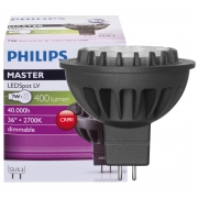 Philips LED-Reflektorlampe, MR16, MASTER LEDSPOT, GU5,3/12V