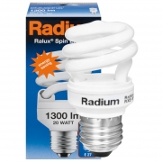 Radium Energiesparlampe, RALUX SPIN RXE-SP, E27/20W, 1300Lm, 2700K, L 111, Ø 54