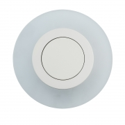 Preview: Wandleuchte Hi-Tech von RegenBogen white, Metall frosted, acrylic 8W LED 3000K 800 Lm